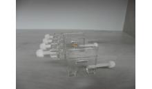 משאבת מינון - מתקן תלייה ל 4 צינוריות
